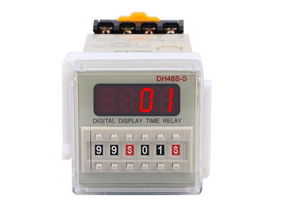 DH48S-S-2Z time relay / timer / counter with socket (AC 220V 110V DC/AC 24V 12V Remark when making payment)(China (Mainland))