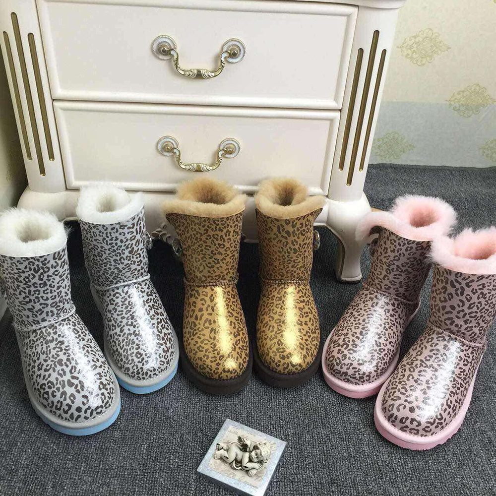 Free Shipping New Brand Women Snow Boots Fur Wool Winter Boots Women Warm Real Genuine Leather Women Shoes 100% Wool women Boots<br><br>Aliexpress
