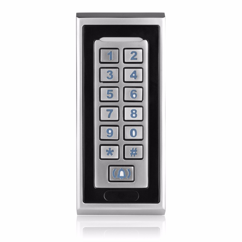rfid door control locks id id card reader metal keypad access control control system. Black Bedroom Furniture Sets. Home Design Ideas