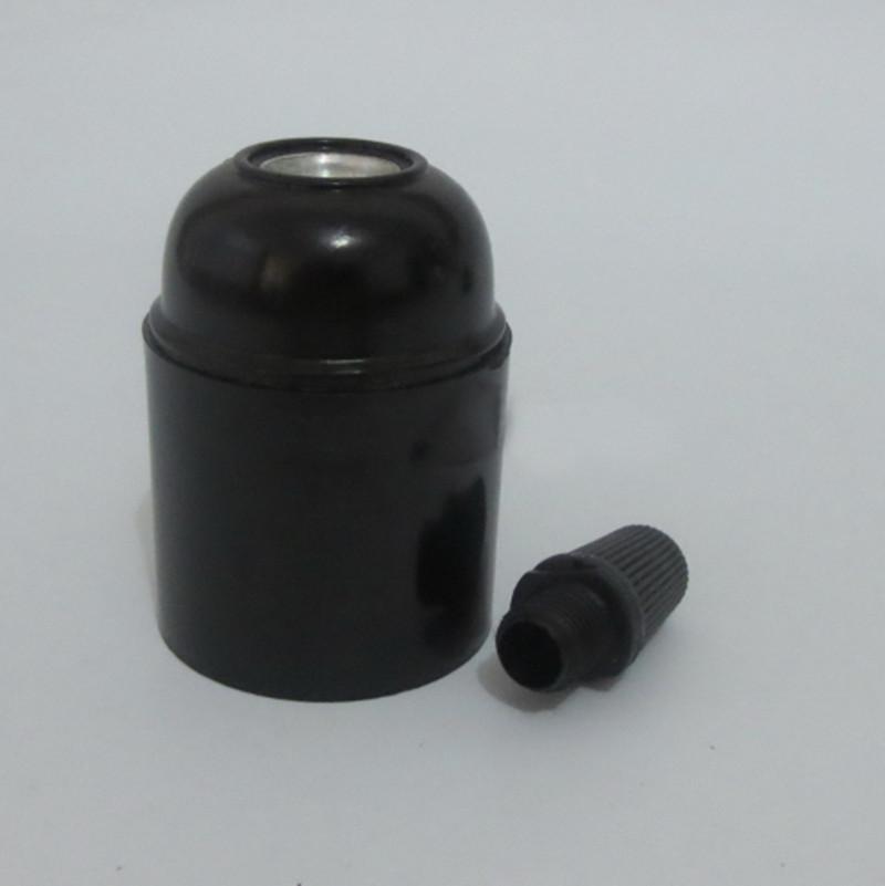 10pcs/lot CE E27 Bakelite Lampholder,E26 Pendant lamp Holder light Socket(China (Mainland))