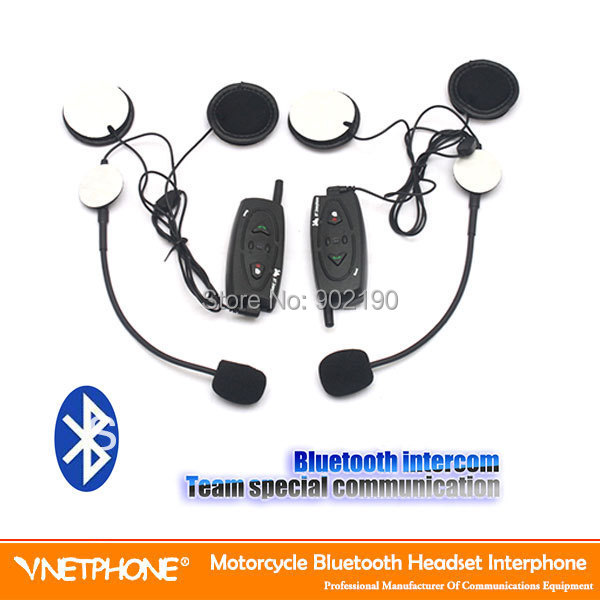 100pcs/lot Superior 500m wireless bluetooth headset walkie talkie motorcycle helmet bluetooth headset headphone(China (Mainland))