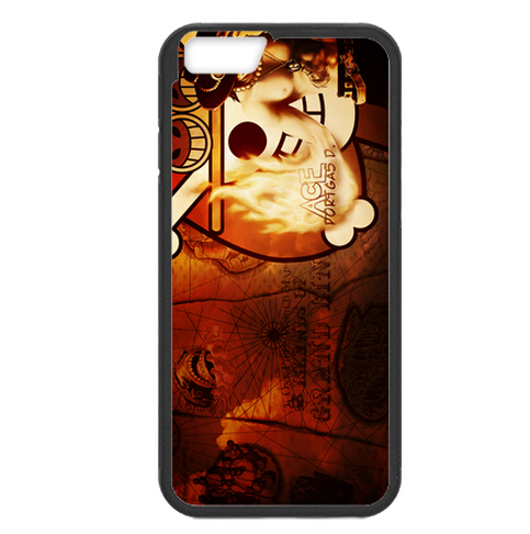 Anime One Piece Ace Cool Hard case for iPhone 4 4s 5 5s 5c 6 plus Samsung galaxy A3 A5 A7 S3 S4 S5 Mini S6 Edge Note 2 3 4(China (Mainland))