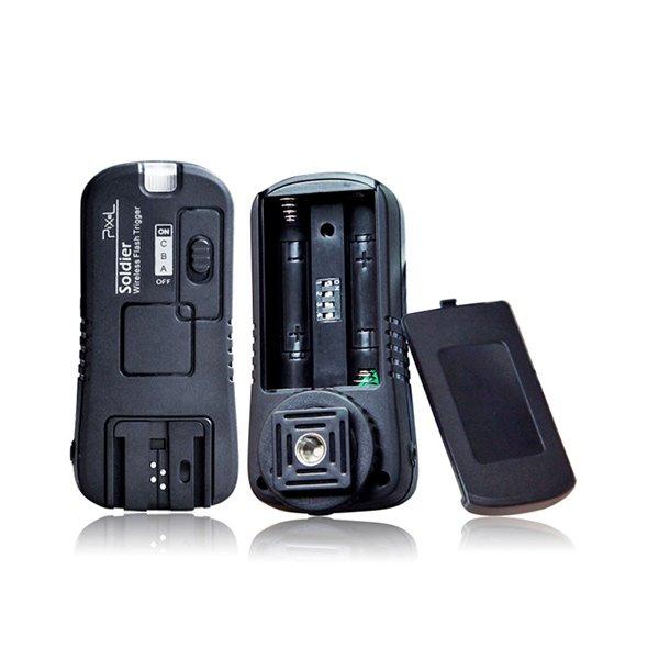 Pixel TF-373 Soldier Wireless Flash Grouping Trigger/ Shutter Remote Control For Son camera hogan scarpe uomo