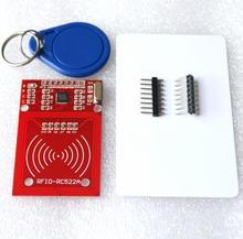 1 SET RC522 RFID Module with IC Card S50 Fudan Cards Key Chains for Arduino Provide Development Code(red)(China (Mainland))