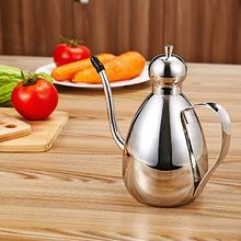 Stainless Steel Olive Oil Vinegar Batcher Can Bottle Pot Kitchen Accessories Cooking Tools Set 500ml Storage Bottles(China (Mainland))