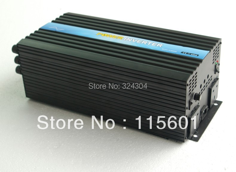 2013 New Hot Sale 4000W Solar Panel Inverter 48v to 110v/230v With Remote Control(China (Mainland))