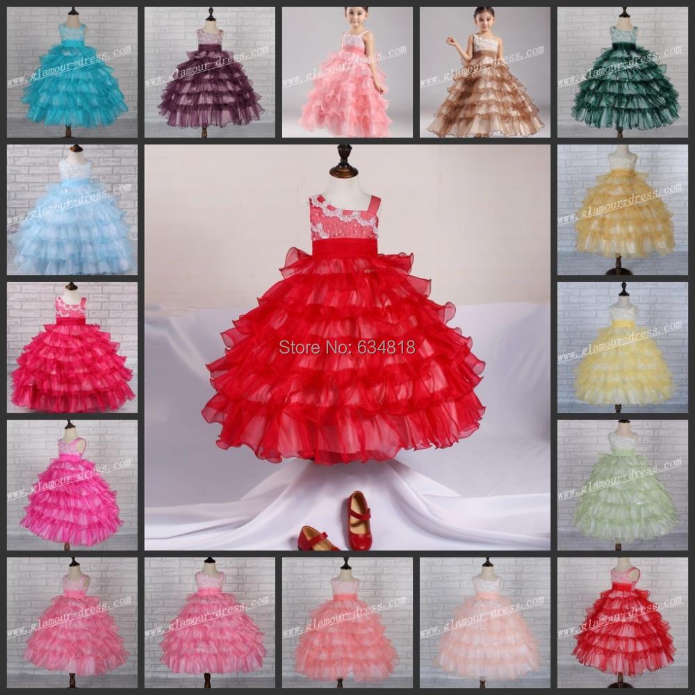Детское платье Glamour 0507 2015 X-0507B