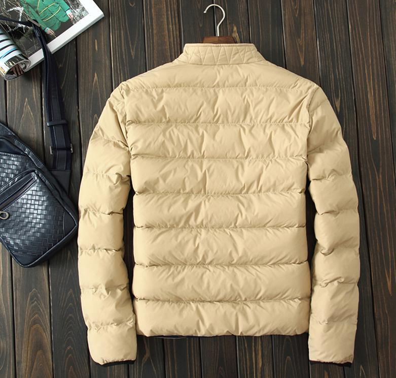 2015 Winter coat Men s fashion warm padded jacket mens cotton men casual European style winter