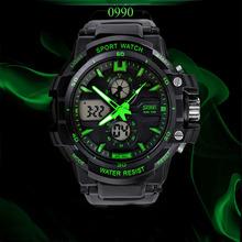 Skmei 0990 military sport watches men luxury brand LED Digital  watch men quartz waterproof relogio masculino