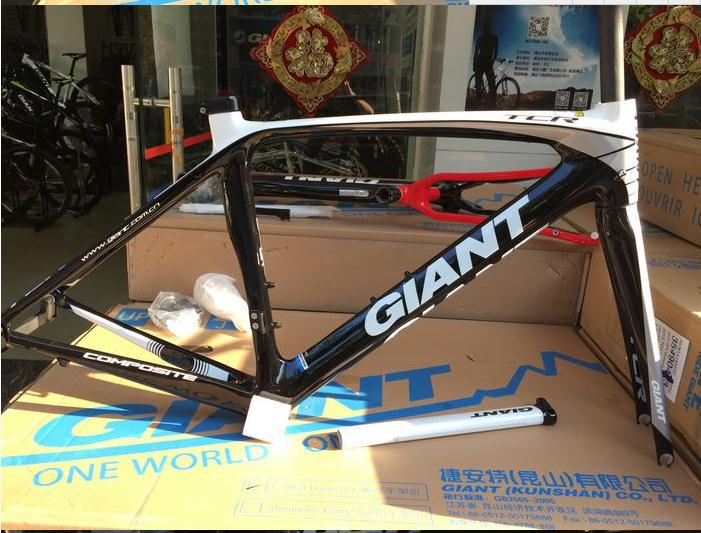 GIANT TCR composite carbon fiber road bike frame 26er MTB frame 83 bike frame fat bike carbon road frame(China (Mainland))