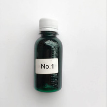 01 Dark Green Epoxy Color Gel epoxie doming resin AB Colorant Dyestuff Pigments for Mould DIY Glue Handcraft Resin Material(China (Mainland))