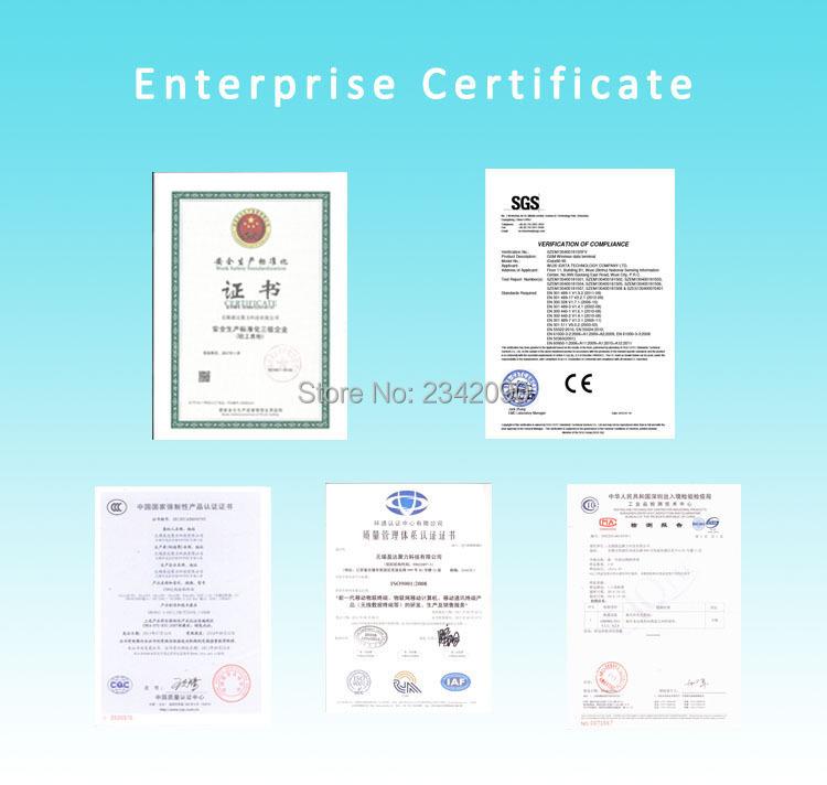 handheld PDA data terminal mobile computer barcode scanner Enterprise Certificate.jpg