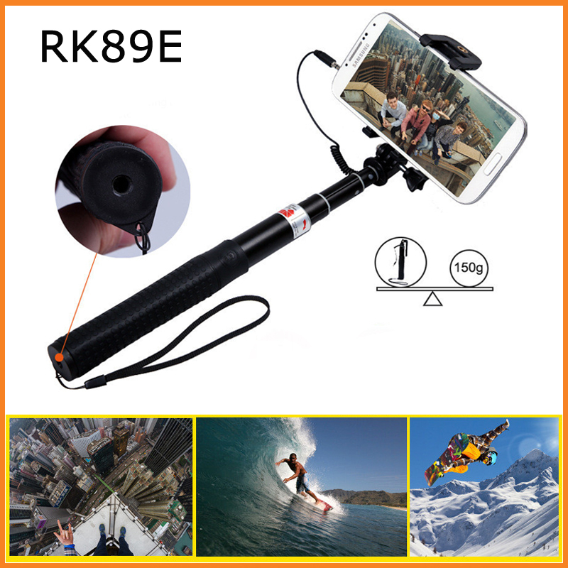 camera selfie stick rk89e telescopi monopod perche selfies. Black Bedroom Furniture Sets. Home Design Ideas