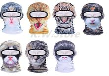 New Cute Lovely Cat Animal 3D Mask Balaclava Outdoor Wind Dust Cap Bicycle Cycling Motorcycle Hat Full Face Masks Sun Protection