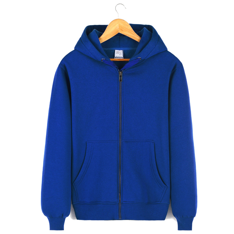 Hot Sale Autumn Winter Men Hoodies Fleece Thick Sweatshirts Casual Sports Male Hooded O-Neck Zipper Windbreak Men Coat Clothing(China (Mainland))
