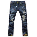 HOT selling!!! Genuine beckham same paragraph upscale cotton men jeans pants, European and American  style mens jeans  MJ8