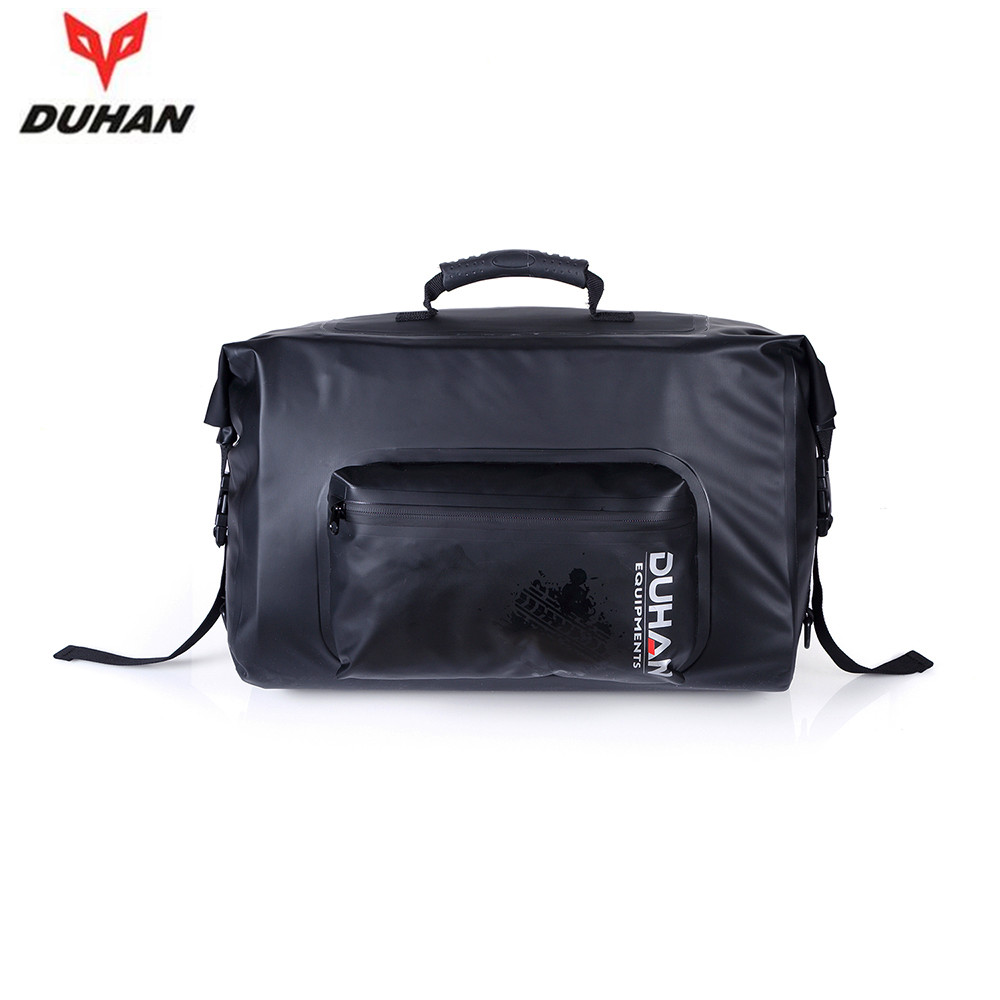 1 pair DUHAN Motorcycle Bag Waterproof Saddle Bags Riding Travel Luggage Moto Racing Tool Tail Bags black Multifunction Side Bag(China (Mainland))