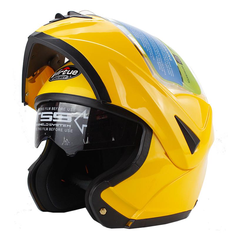 Venda quente 7 cores WL-808 flip up motorcycle helmet com sistema dual viseira de sol interior todo mundo pode usar(China (Mainland))