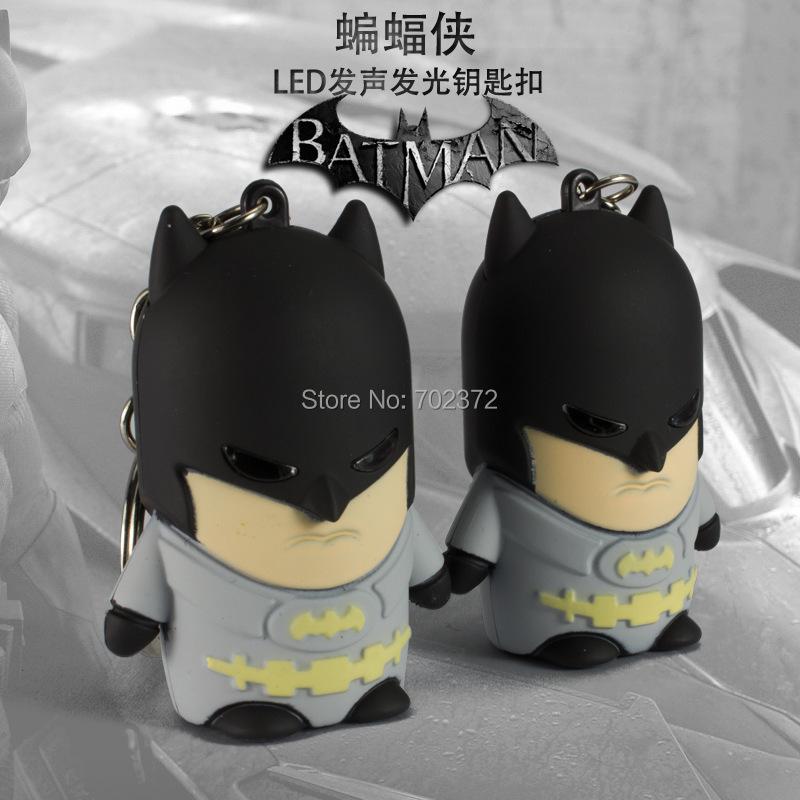 batman keychain, led keychain, sound keychain, qute accessories(China (Mainland))