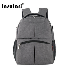 Buy INSULAR Large Baby Backpack Diaper Bag Organizer Baby Stroller Bag Maternity Bag Mother Handbag Nappy Bags Diaper Backpack for $25.19 in AliExpress store