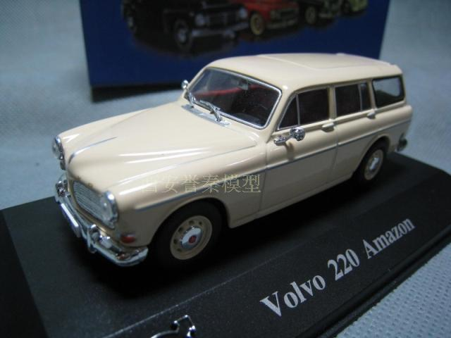 ATLAS 1/43 VOLVO 220 AMAZON 220 Volvo Amazon alloy models(China (Mainland))