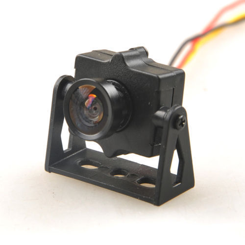 FPV 520TVL HD Mini Camera with Camera Mount NTSC Format for QAV250 Quadcopter
