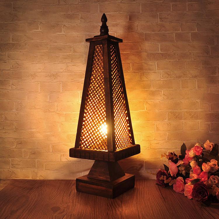 Lampe de chevet style asiatique - Lampe table de chevet ...