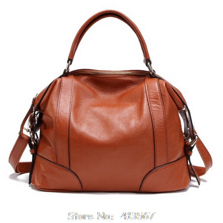 2016 Real Leather Bags!!! Women Genuine Leather Messenger Bags Women Bags Ladies Designer Shoulder Bag Women Unique Handbags(China (Mainland))