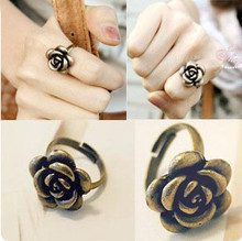 The second half price ! vintage National  trend gold copper rose adjustable  index finger  ring men jewelry rings for women A31(China (Mainland))