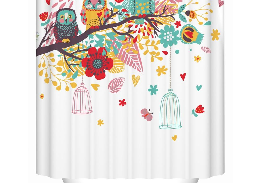 Custom bathroom shower curtain opaque thickening waterproof polyester shower curtain pull-cords curved bath(China (Mainland))