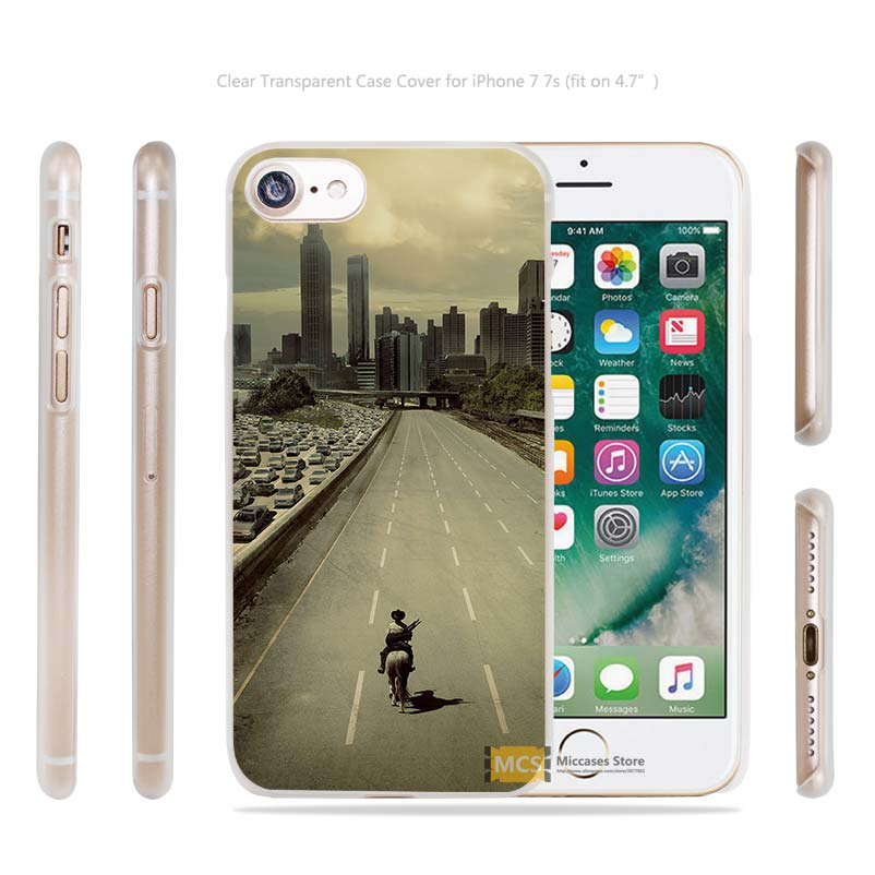 ab34 walking dead city film Transparent Case Cover apple iphone 4 4s 5 5s SE 6 6s 7 7s plus i4 i5 i6 i7  -  Mohoo Store Store store