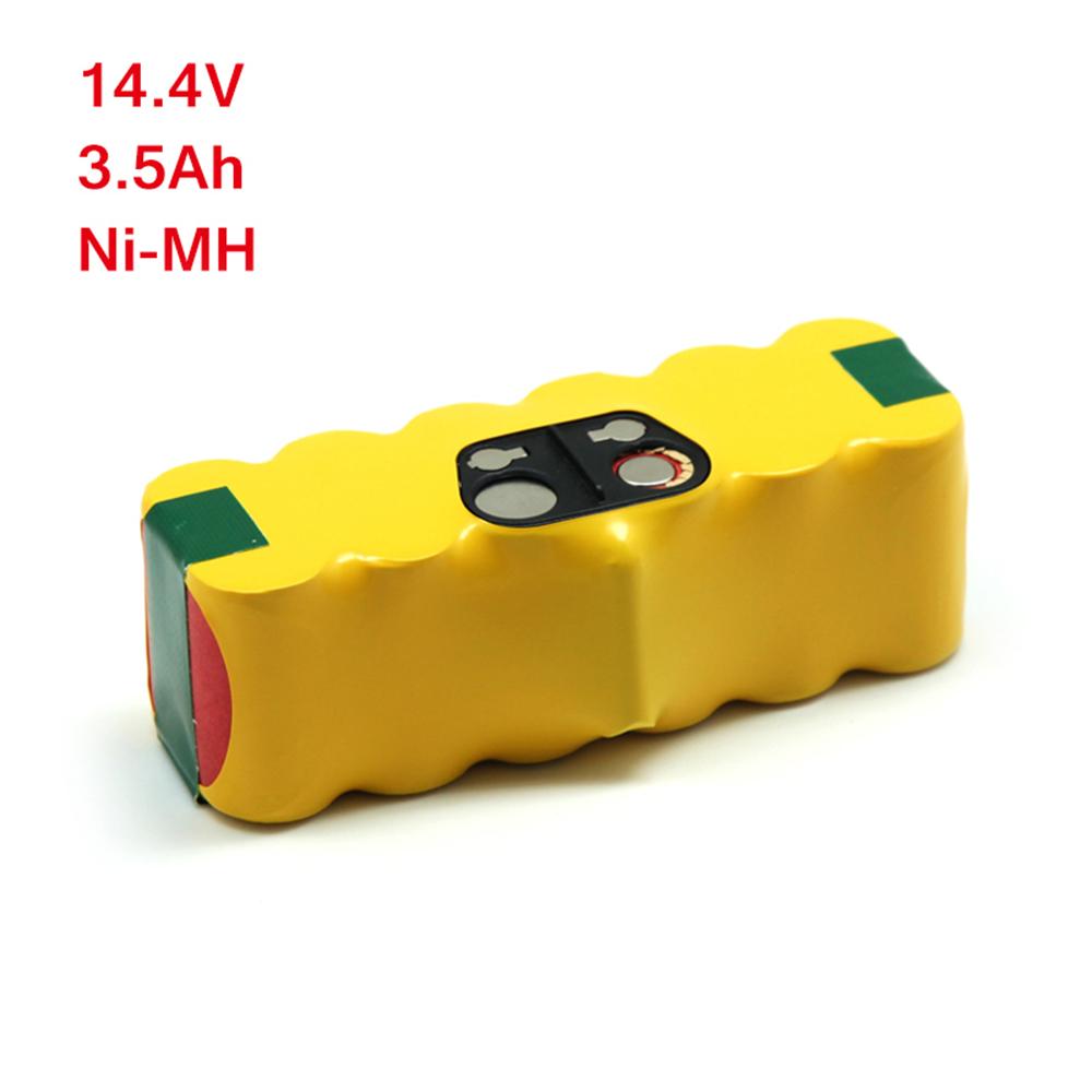 East 3500mAh 14,4V Ni-MH Battery for iRobot 520 530 531 550 555 compatible with iRobot 11702 VAC-500NMH-33(China (Mainland))