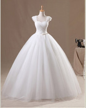 New Arrival 2016 Fashion Celebrity Strapless White/Ivory Tulle Silk Organza Vera Wedding Dress Wedding Gowns & vestido de noiva(China (Mainland))
