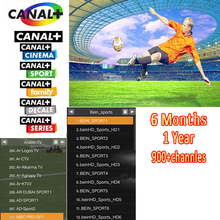 6months/12 months Europe QHDTV IPTV Italy French Arabic sports Canal+ Digispain Movies works MAG250,Enigma2 Free Shipment