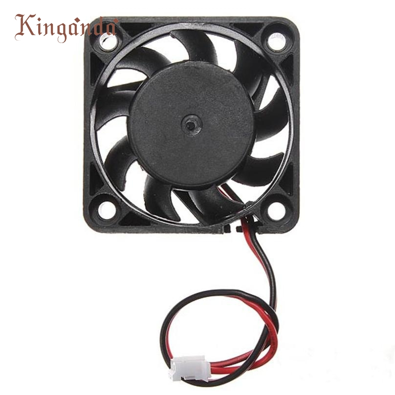 Drop shipping 12V 2 Pin 40mm Computer Cooler Small Cooling Fan PC Black F Heat sink Free shipping & wholesale Jan 8(China (Mainland))