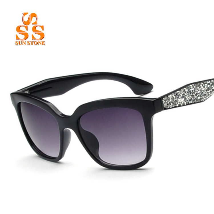 SUN-STONE Brand High-end Luxury Designer Rhinestone ...