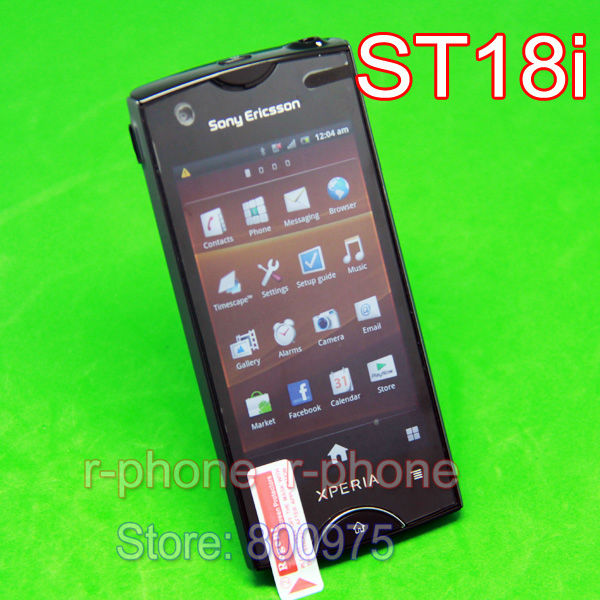 Unlocked Original Sony Ericsson Xperia ray ST18i Mobile Phone GPS WIFI 8MP Android Smartphone Refurbished(China (Mainland))