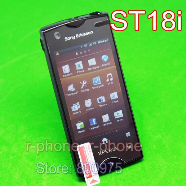 Unlocked Original Sony Ericsson Xperia ray ST18i Mobile Phone GPS WIFI 8MP Android Smartphone Refurbished(China (Mainland))