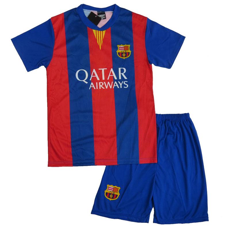 Zo-on 2016 Cheap Boy Soccer Jersey Set Camisetas De Futbol Youth Kids Boys Child Futbol Uniforms Soccer Football Team Uniforms(China (Mainland))