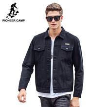 Pioneer Camp 2017 Новое поступление Джинсовая куртка мужская Новый дизайн Комфортный материал 100% Хлобок новый бренд 611309(China (Mainland))