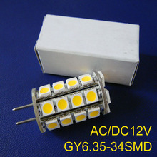 High quality 12V GY6.35 led lights,GY6.35 lights led,led G6 bulb,gy6 led lamps free shipping 20pcs/lot