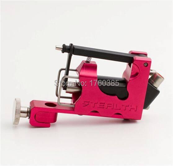 Stealth Generation 2.0 Aluminum Rotary Tattoo Machine For Liner Shader Red Tattoo Gun(China (Mainland))