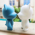 2016 Good Munny kidrobot Collectible Figures PVC Vinyl Toy Blank Funny Dog Or Cat LPS Drawing