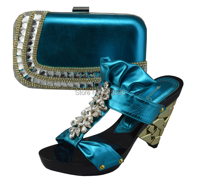 dress matching shoe and bag set wholesale