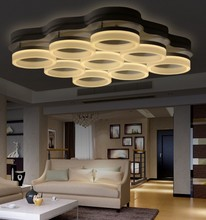 Modern led lamp surface mounted modern led ceiling lights for living room light fixture indoor lighting decorative lampshade(China (Mainland))
