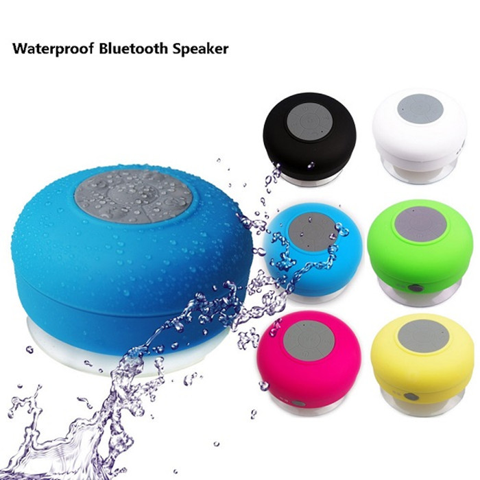 Portable Waterproof Wireless Bluetooth adsorbable Mini WIFI font b Speaker b font For SHOWER POOL Handsfree