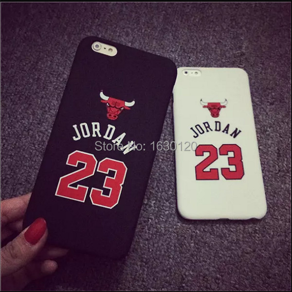 """Chicago Bulls No.23 Jordan Basketball PC Cover Case For Apple iPhone 5G 6 4.7"""" 6 plus 5.5"""" Jumpman Sports Brand Logo Phone Cases(China (Mainland))"""