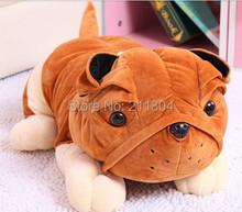45cm bulldog dog plush toy,cute lovely gift,soft vivid royal loyal pet dog,birthday gift for children kids boys girls free ship