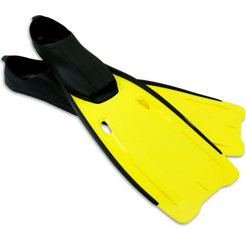 Open Heel Scuba Diving Swimming Fins Flippers Snorkeling Fins Plate Flippers (Blue/Yellow/Pink) Sports Submersible(China (Mainland))