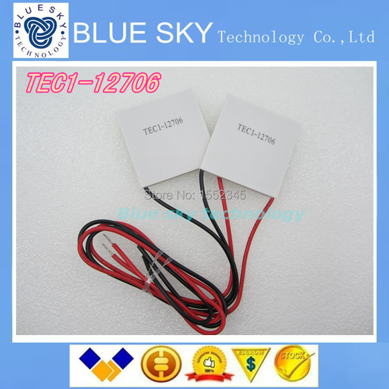 2x TEC1-12706 91.2W TEC Thermoelectric Cooler Peltier(China (Mainland))